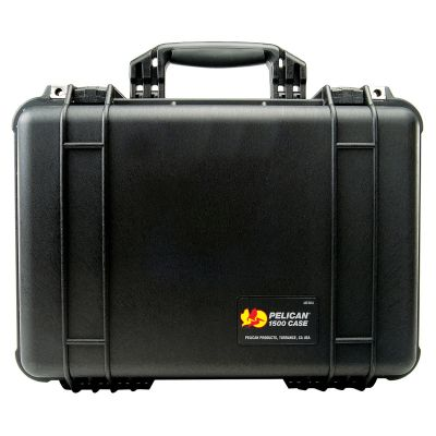 Peli 1500 Equipment Protector Case (w/ Dividers)