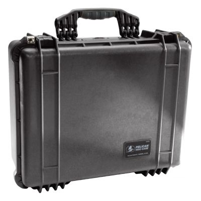 Peli 1550 Equipment Protector Case (w/ Dividers)