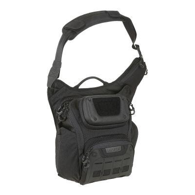 Maxpedition WOLFSPUR Crossbody Shoulder Bag (Black)