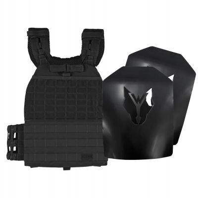 5.11 TacTec Plate Carrier Black and Wolverson 11lbs Curved Plates
