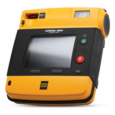 LIFEPAK 1000 AED (with ECG Display & Manual Overide)