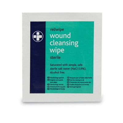 Wound Cleansing Wipes (Pack of 10)