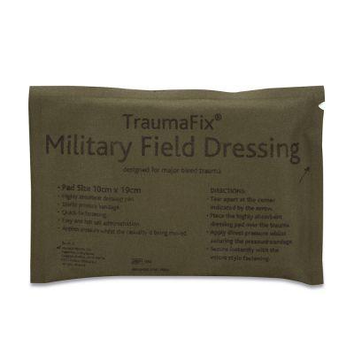 TraumaFix Military Dressing (10 x 19cm Pad)