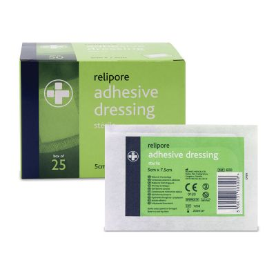 Adhesive Wound Pad - 5 x 7.5cm (Pack of 25)