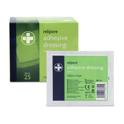 Adhesive Wound Pad - 7.5 x 7.5cm (Pack of 25)