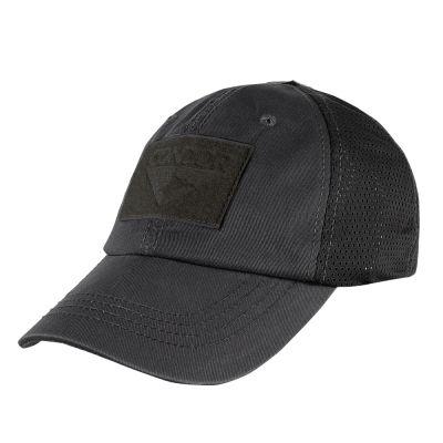 Condor Mesh Tactical Cap (Black)