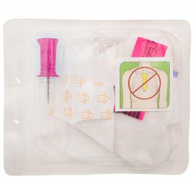 EZ-IO Needle + Stabiliser Kit - 15mm - 15G - Pink (Single)