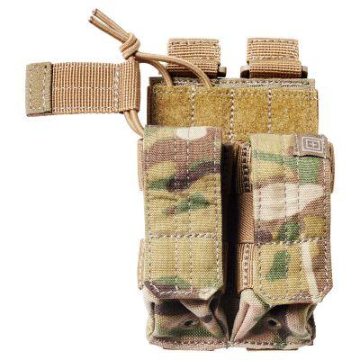 5.11 MultiCam Double Pistol Bungee/Cover Pouch