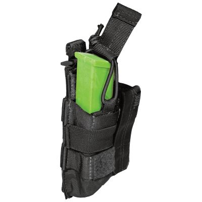 5.11 Double Pistol Bungee/Cover Pouch (Black)