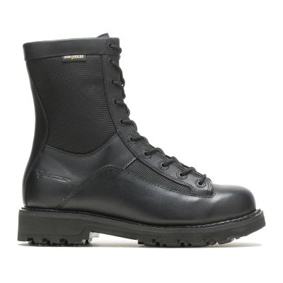Bates 8in Durashocks Lace-To-Toe Side Zip Boots