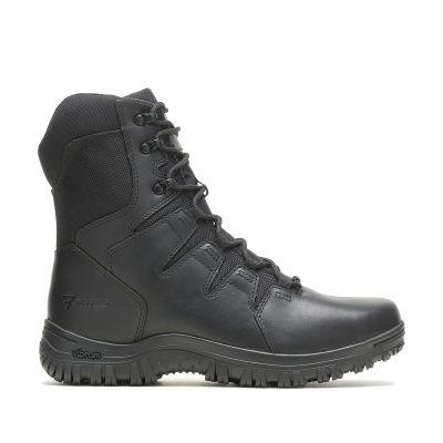 Bates Maneuver 8in Side Zip Boots (Black)