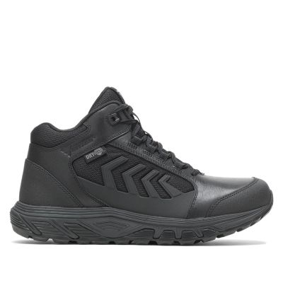 Bates RUSH Shield Mid DRYGuard Boots (Black)