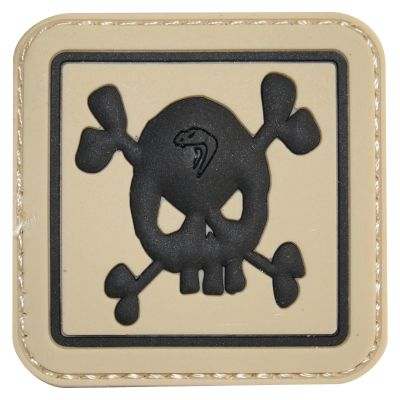 Viper Tactical Morale Rubber Patch (Skull)