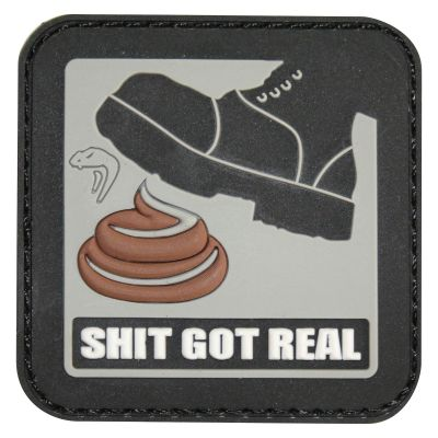 Viper Tactical Morale Rubber Patch (Got Real)