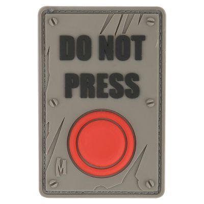 Maxpedition Morale Patch - Do Not Press (SWAT)