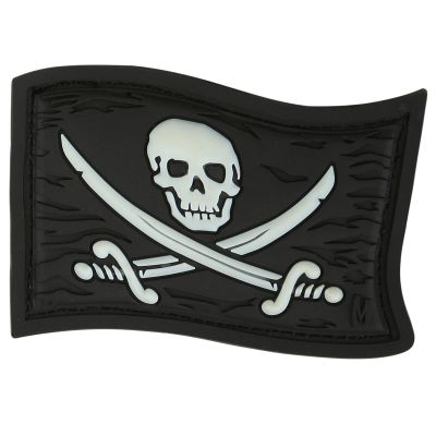 Maxpedition Morale Patch - Jolly Roger (Glow)