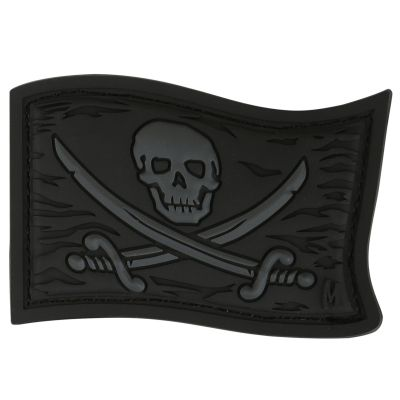 Maxpedition Morale Patch - Jolly Roger (Stealth)