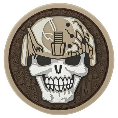 Maxpedition Morale Patch - Soldier Skull (Arid)