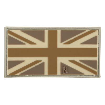 Maxpedition Morale Patch - UK Flag (Arid)
