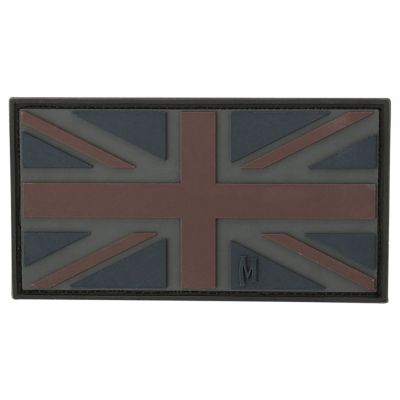 Maxpedition Morale Patch - UK Flag (Stealth)