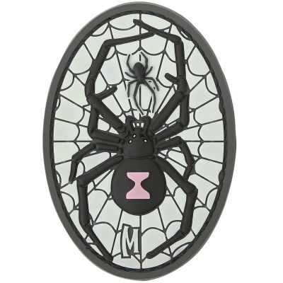Maxpedition Morale Patch - Black Widow (Glow)