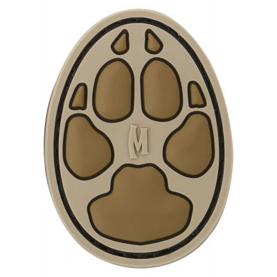 Maxpedition Morale Patch - Dog Track (Arid)