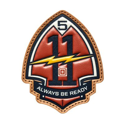 5.11 Bolt And Arrowhead Morale Patch