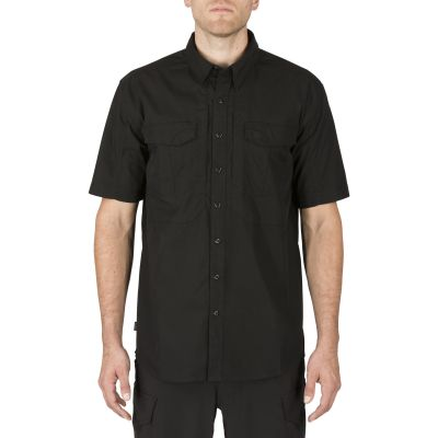 5.11 Stryke S/S Shirt w/ Flex-Tac - Black (2X Large)
