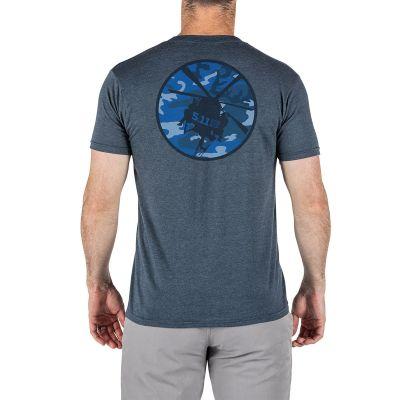 5.11 Little Bird Sunrise T-Shirt (Navy Heather)