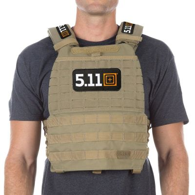 5.11 TacTec Plate Carrier with Complete Patches